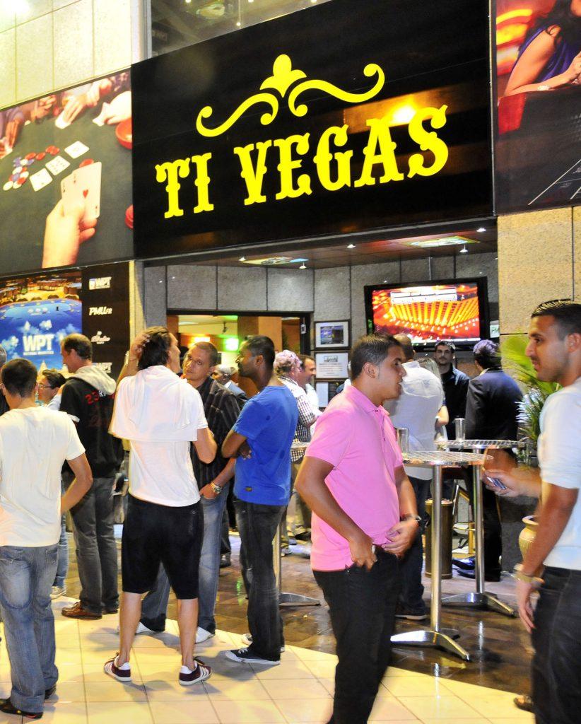 Entrance of Ti Vegas