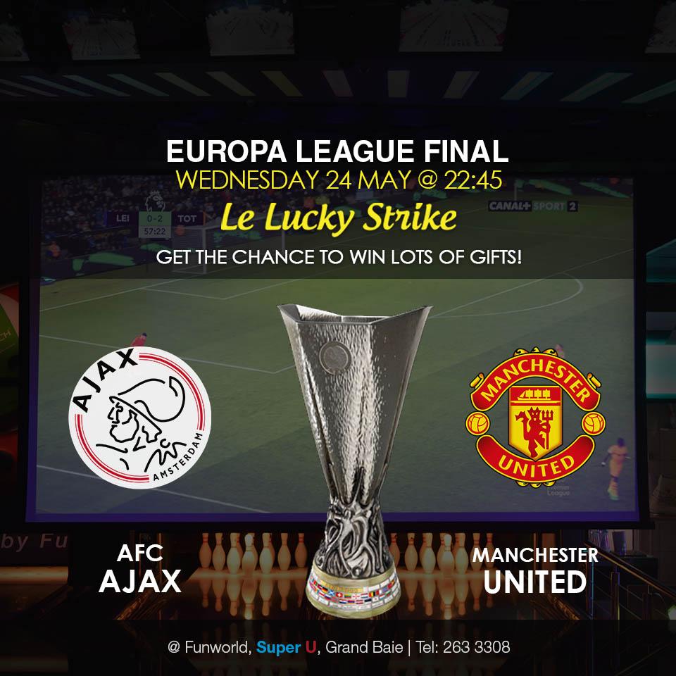 Ajax Vs Paok: Europa League Final: AFC Ajax Vs Manchester United