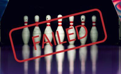 bowling fails